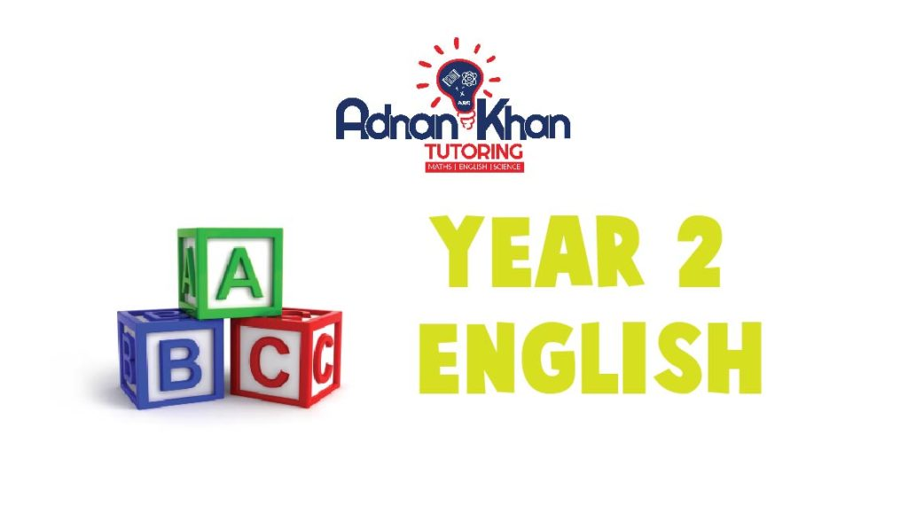 Year 2 English Adnan Khan Tutoring 3